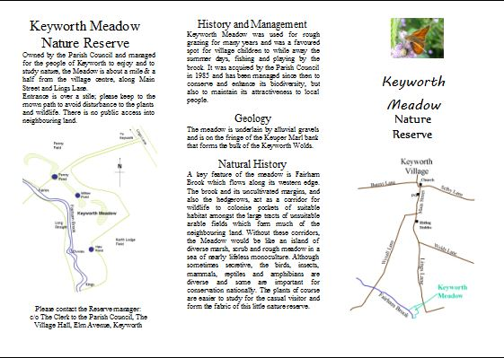 jpg image of Page 1 of Meadow leaflet.