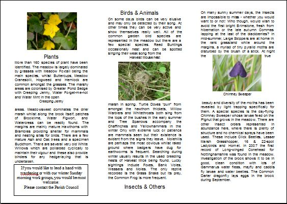 jpg image of Page 2 of Meadow leaflet.